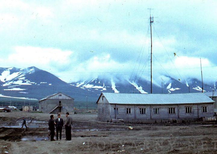 Рация с антеннами ПУГРЭ. 1970-е