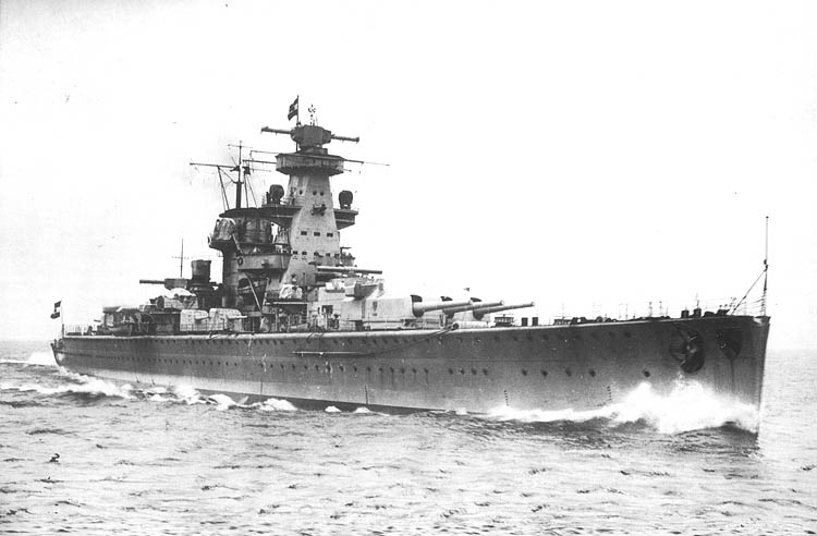 Тяжелый крейсер «Адмирал Шеер»