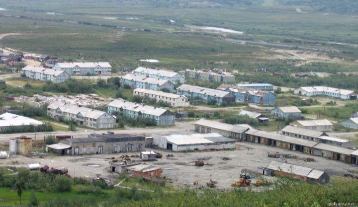 Поселок Полярный без жителей. 2005 год.