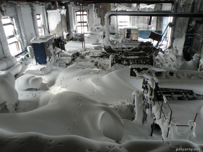 Новый машинный зал дизельной, п.Полярный, 2006 год