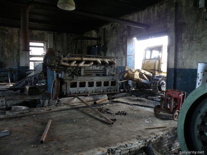 Агрегат Skoda поехал на двор, п.Полярный 26 июля 2010