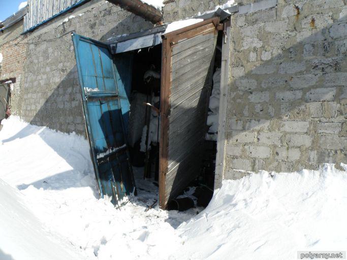 Осенью побывала «зона» с Харпа и вырвала ворота. 2010 г.