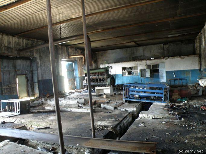 Уборка остатков оборудования 3 июля 2012 года