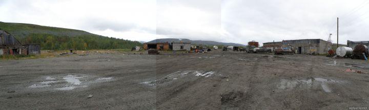 Предполагаемая территория базы Перевал – участок 89:09:120101:12 22 августа 2015 года.