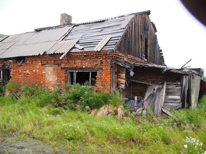 В этом крыле здания бани располагалась электростанция