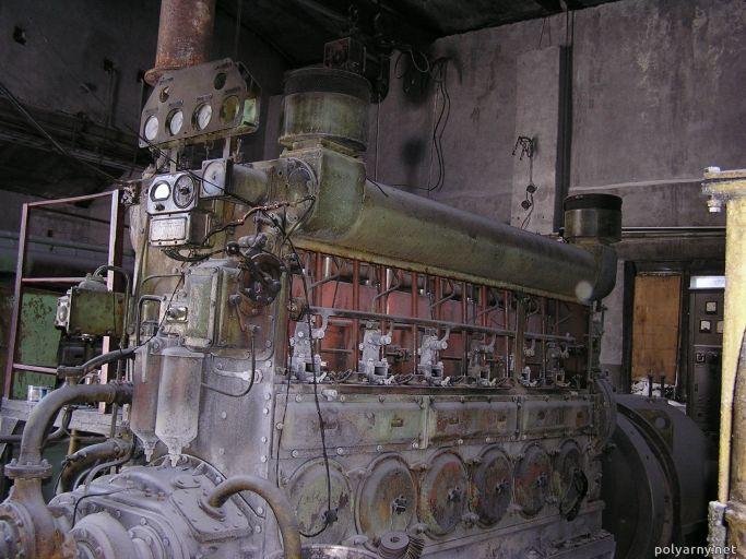 ДГА-200. Агрегат №2 дизельной
