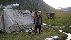 Геологическая баня в горах