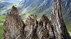 Развалины мраморного замка