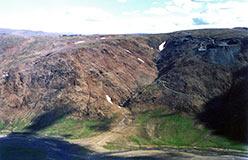 Месторождение хромитов Центральное на Райизе
