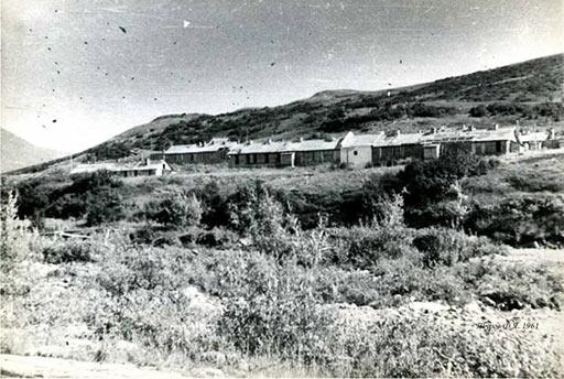 Лагерный пункт геологоразведочных работ на Харбейском месторождении