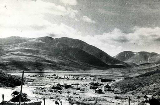 Поселок Харбей Харбейской ГРП в 1961 г