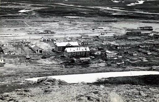 Поселок Полярный («106-й», «110-й») в 1962 году