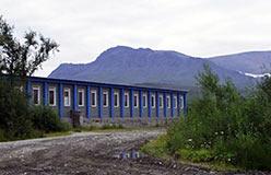 Последняя контора ПУГРЭ на Полярном 2003