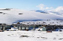 Новая часть поселка Полярный. 2003 год