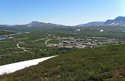Оставленный жителями поселок Полярный на 110-м км