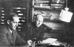 Г.П.Софронов и К.Г.Войновский-Кригер на Полярном. 1944