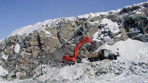 Хромовое месторождение «Центральное». Опытная (но не первая) добыча хромитовой руды