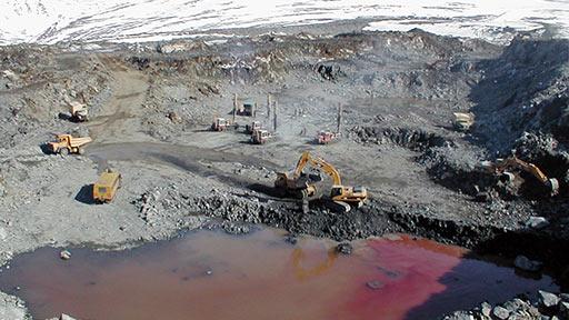Хромовое месторождение «Центральное». Красная вода - селитра ВВ