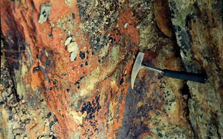 Бороздовое геологическое опробование 1948 года. Харбей, 2004