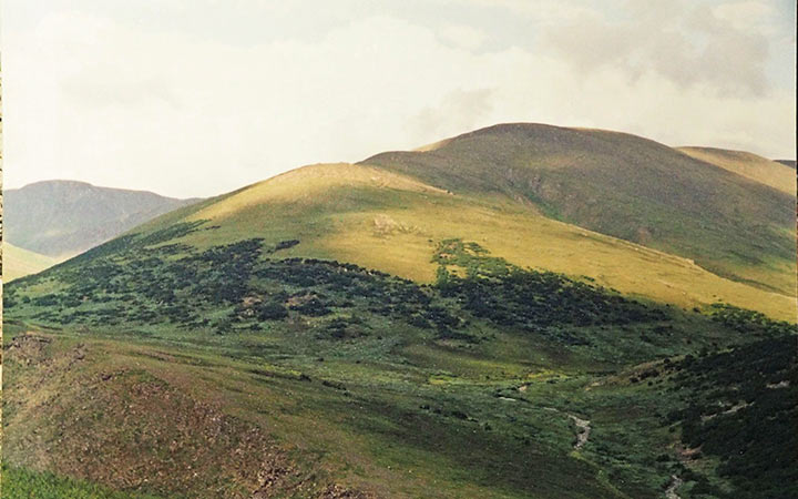 Вид на Свинцовый участок. Харбей, 2004