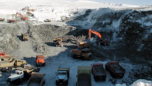 Хромовое месторождение «Центральное». 2004 год