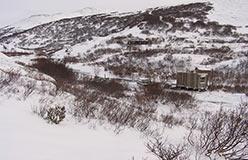 Лагерь горных работ 2006 года. 16.10.2006