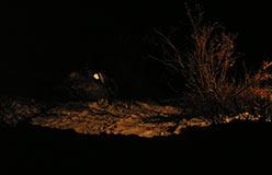 Стоянка на Молибденитовой ночью. 18.10.2006
