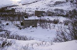 Вид на лагерь со стороны бани. 22.10.2006