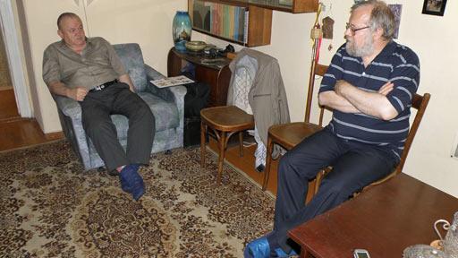 В домашнем кабинете Подсосова