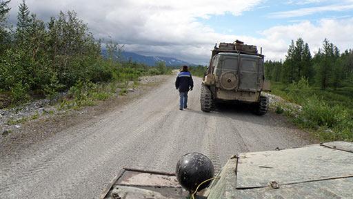 Возвращаемся с рекогносцировки на базу. 10-й км. 20.07.2015