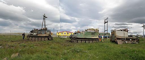 На станции «Полярный Урал». 04.08.2015