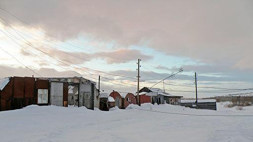 Оставленная ОАО ПУГГП база Кожим на Полярном. 20 декабря 2015