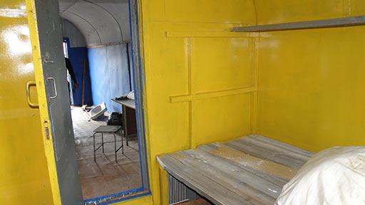 Вид из маленькой комнаты балка