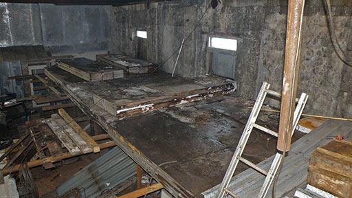 Укладка пола второго этажа