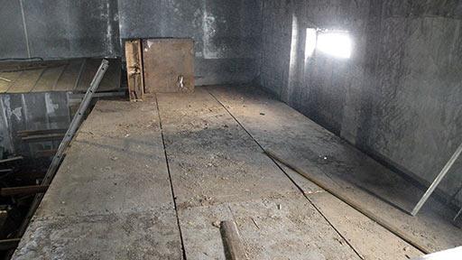 Завершено перекрытие второго гостевого этажа