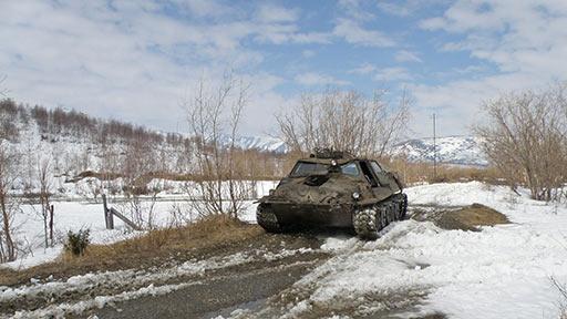 ГТ-Т раскатывает подъезды к водозабору