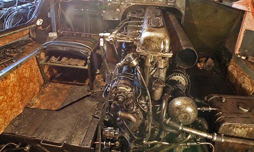 Двигатель В-6 готов к запуску