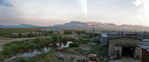 Начало гореть в Шурышкарском районе