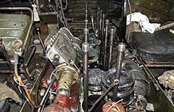 Блок цилиндров В-6А удален