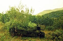 Брошенный и забытый. САУ-76 Харбей 2004