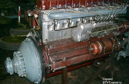 Двигатель В-6В мощностью 240 л.с.