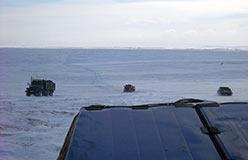 Движение к побережью Карского моря. На Яры
