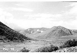 Долина Ханмея. Горы