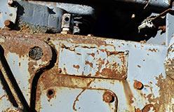 Заводская табличка на тракторе. Год выпуска 1969