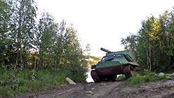 ГТ-Т-2 покидает Харп и направляется на Полярный. 11.08.2014