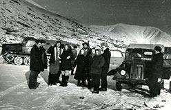 Харбей ЦУП. 1961. Фабрика еще цела