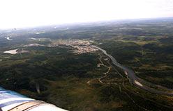 Харп со стороны Сенька-Шора, вниз по течению Соби. Июнь 2008