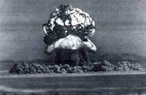 Взрыв головной части 12 октября 1961 года (1150 кт)