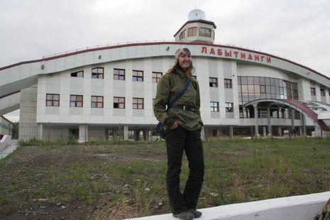 Новый вокзал в г. Лабытнанги