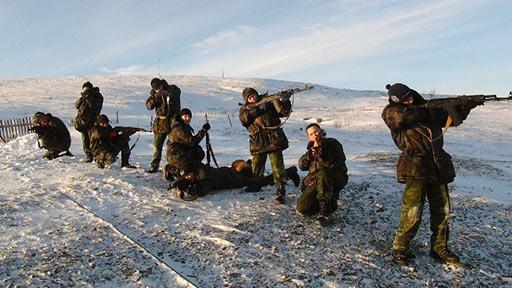 Знакомство с тактическими приемами действий подразделения в горах. База Перевал. Октябрь 2013
